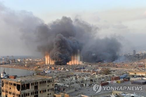 文在寅對黎巴嫩爆炸事件表達哀悼