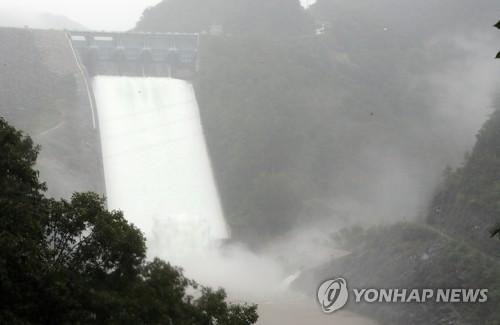 昭陽江壩3年來首泄洪