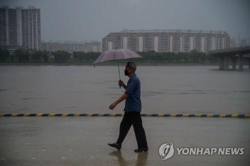 朝鮮主要河流發佈洪水預警