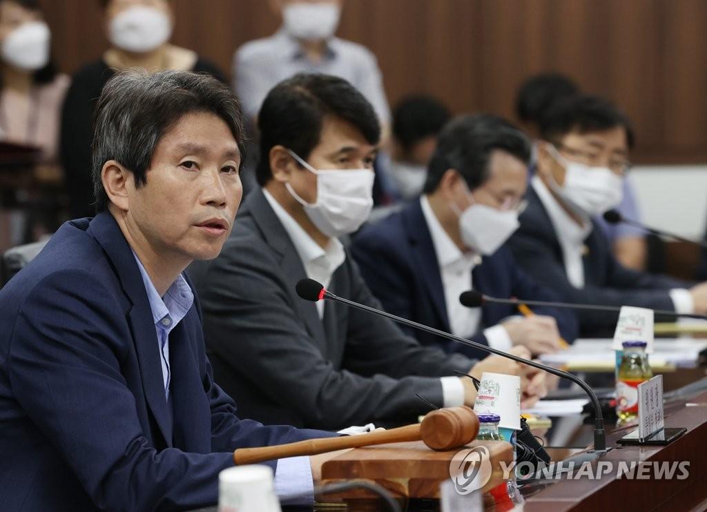 韓統一部長官對朝鮮未通知泄洪表示遺憾