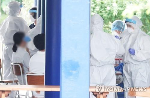 簡訊:南韓新增103例新冠確診病例 累計14873例