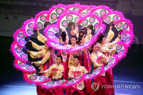 南韓傳統舞蹈
