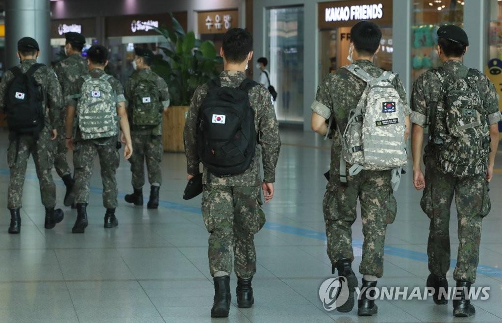 韓軍將上調部分部隊營內防疫級別至月底