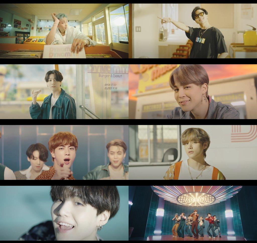 防彈新歌MV創播放量破2億最快紀錄