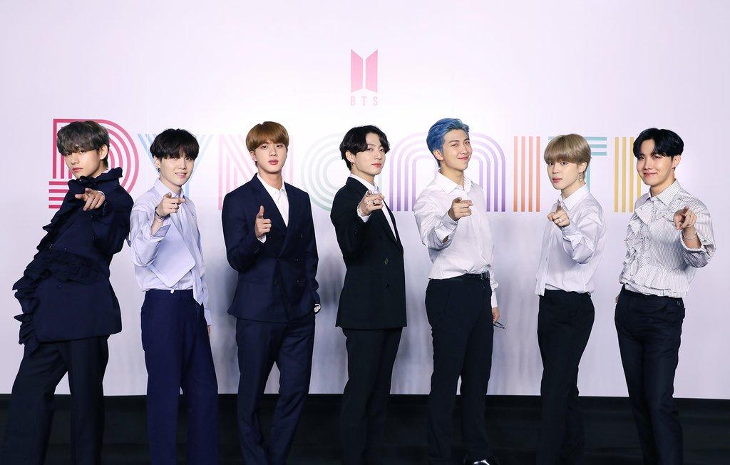 資料圖片:防彈少年團(BTS) 韓聯社/Big Hit娛樂供圖(圖片嚴禁轉載複製)