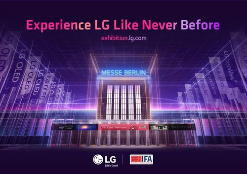 LG電子參加德國IFA電子展勾畫新常態生活願景
