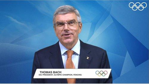 國際奧會主席巴赫榮獲首爾和平獎