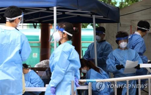 簡訊:南韓新增156例新冠確診病例 累計21588例