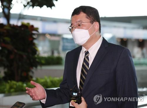 韓副外長崔鐘建啟程赴美 將會晤美副國務卿