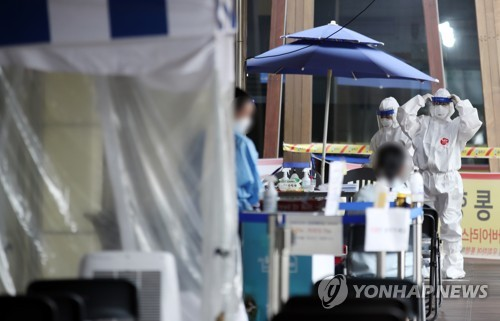 簡訊:南韓新增109例新冠確診病例 累計22285例