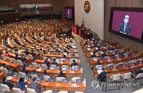 南韓朝野就下周通過補充預算案達成一致