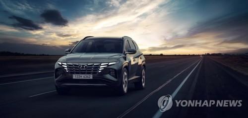 現代第五代途勝在韓預售首日銷量破萬