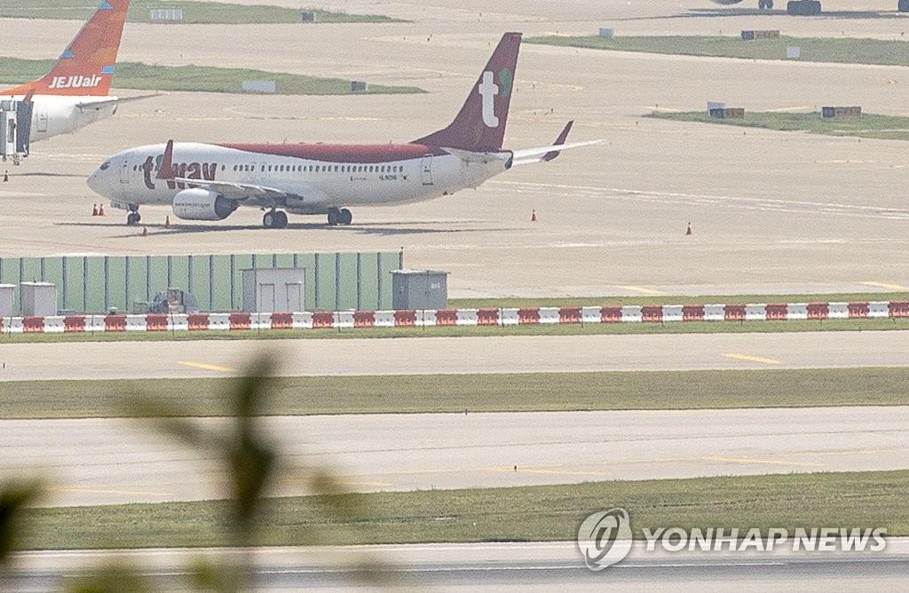 資料圖片:德威航空客機 韓聯社
