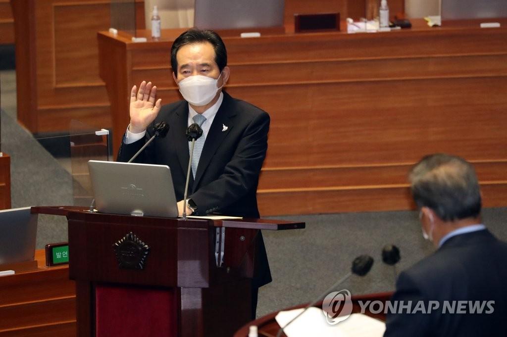 韓總理自評未全面禁止自華入境是明智之舉