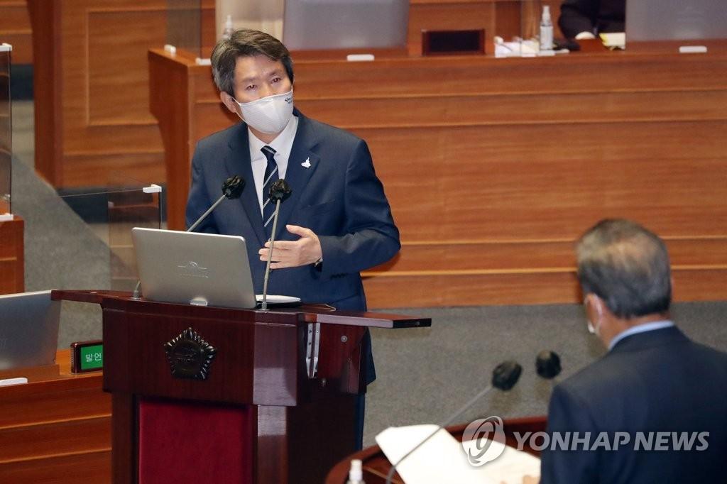 韓統一部長官提出在朝設南韓代表部構想
