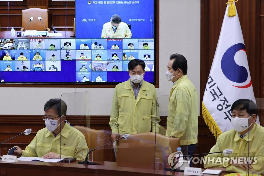 韓政府決定將非首都圈二級防疫響應延長一週