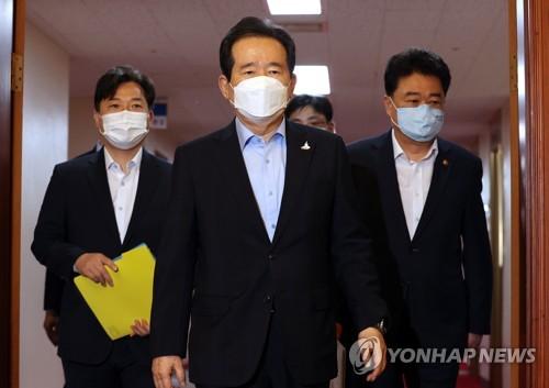 韓總理核酸檢測呈陰性重返崗位