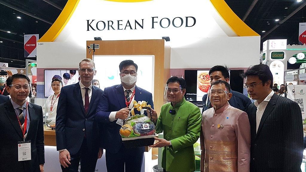 泰國食品博覽會南韓館