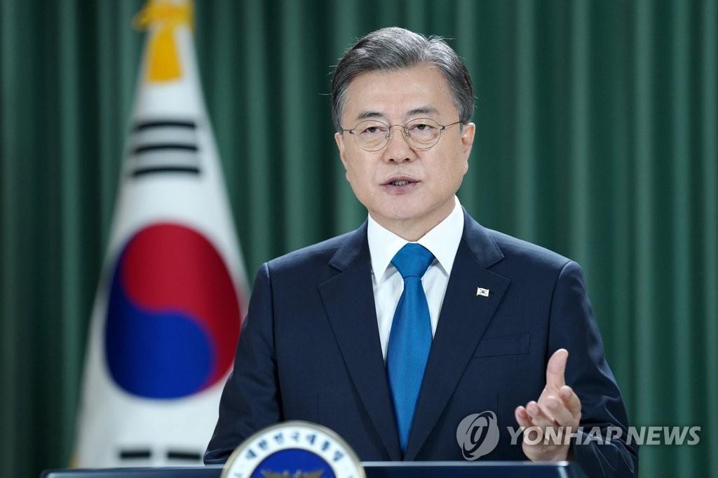 文在寅聯大演講:韓半島終戰宣言將開啟無核化停轉和之門