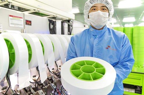 SK創新常州鋰電池隔膜廠正式投產