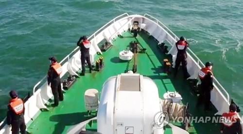 韓被朝射殺公務員遺體搜尋工作仍在繼續