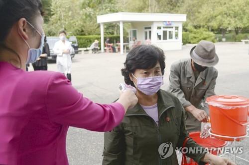"""朝鮮超萬人接受新冠檢測 病例數仍為""""0"""""""