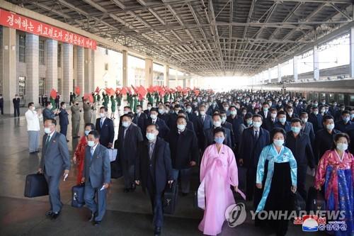 朝媒為勞動黨成立75週年慶造勢