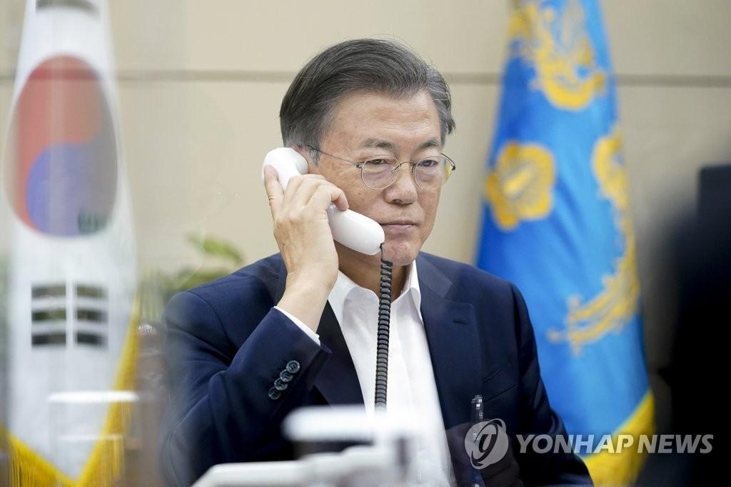 文在寅力挺世貿總幹事候選人俞明希