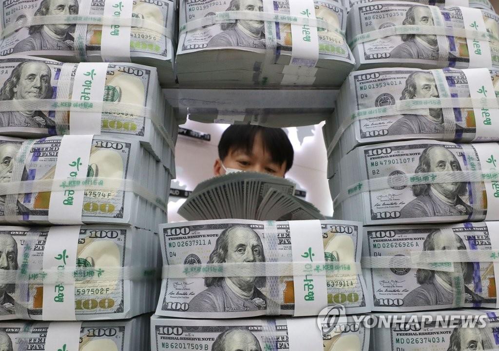 韓10月外儲4265億美元 環比增加60億