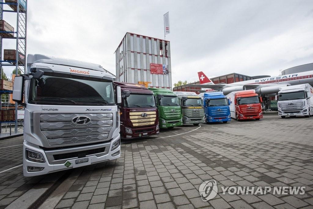 現代汽車:計劃到2030年對華出口2.7萬輛氫卡