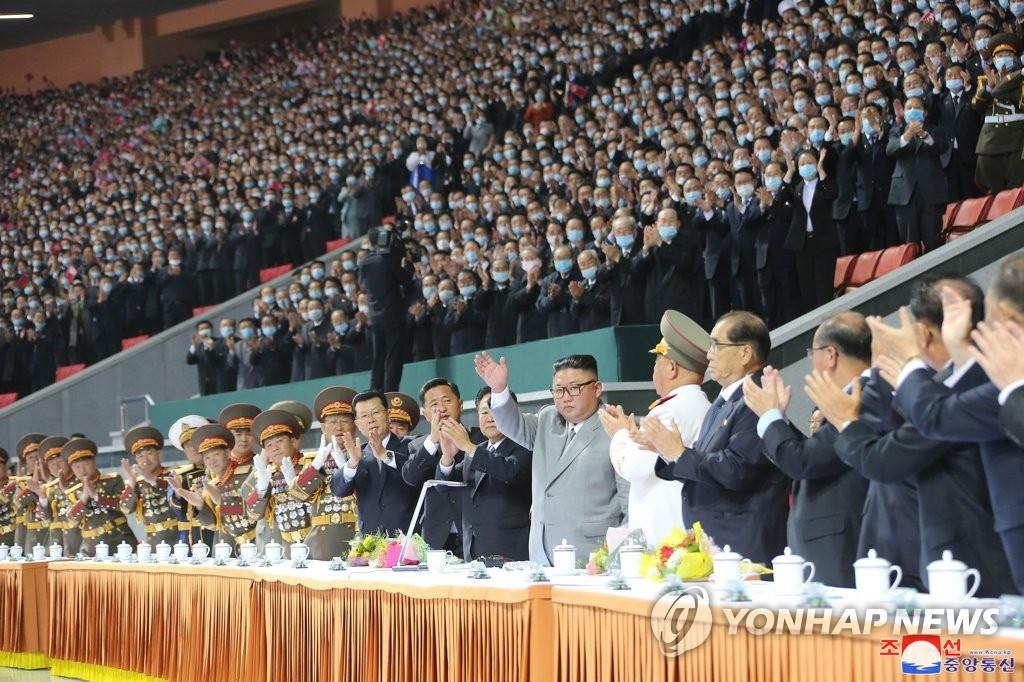 韓統一部:朝鮮建黨日活動後停演大型團體操