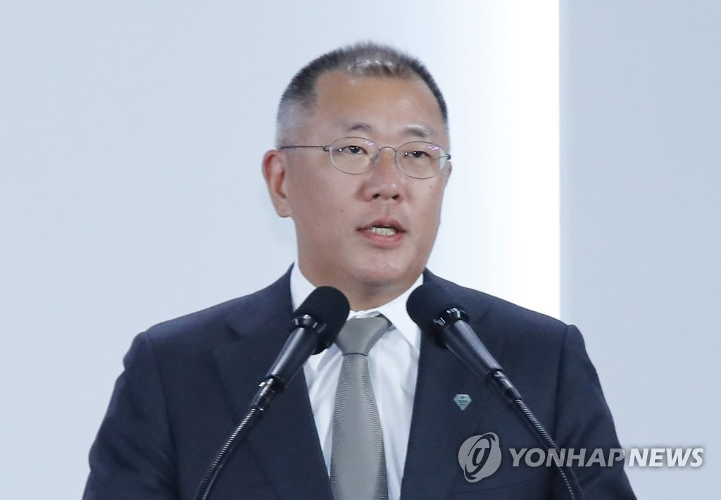 現代汽車集團首席副會長鄭義宣升任會長
