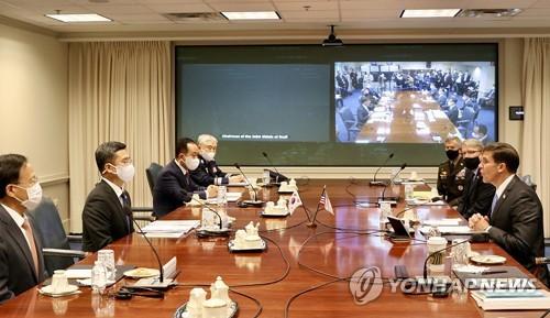 詳訊:韓美安保會議討論戰權移交現分歧