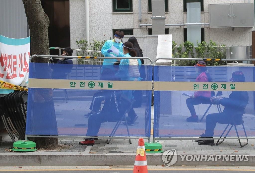 南韓新增73例新冠確診病例 累計25108例