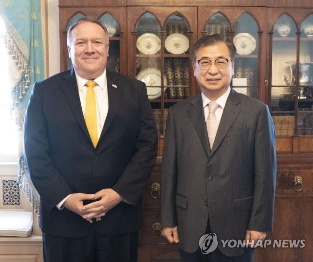 南韓安首長會見美國務卿