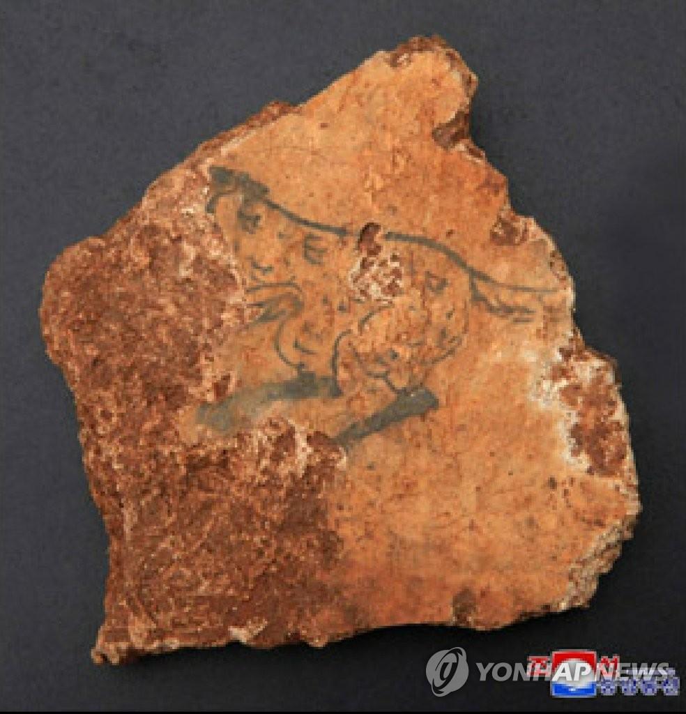 朝鮮發現高句麗壁畫墓