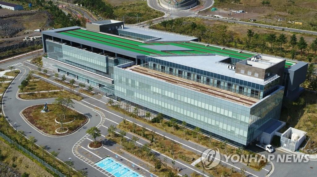 資料圖片:位於濟州的綠地國際醫院 韓聯社