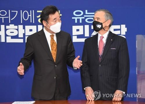 韓執政黨黨首會見美駐韓大使