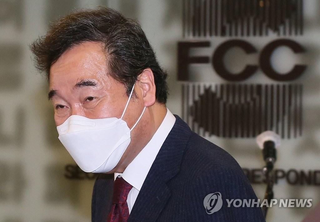 韓執政黨黨首李洛淵:韓朝關係明年初前有轉機