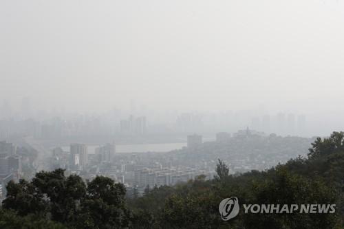 首爾發佈霧霾預警
