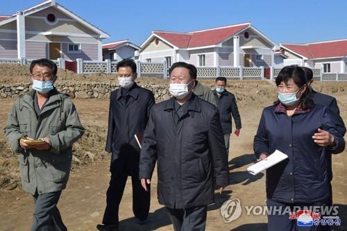 朝鮮崔龍海現場指導