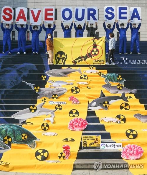 敦促日本撤回核水排放計劃