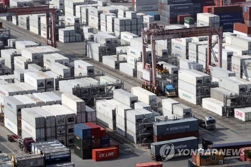 南韓1月前20天出口同比增加10.6%