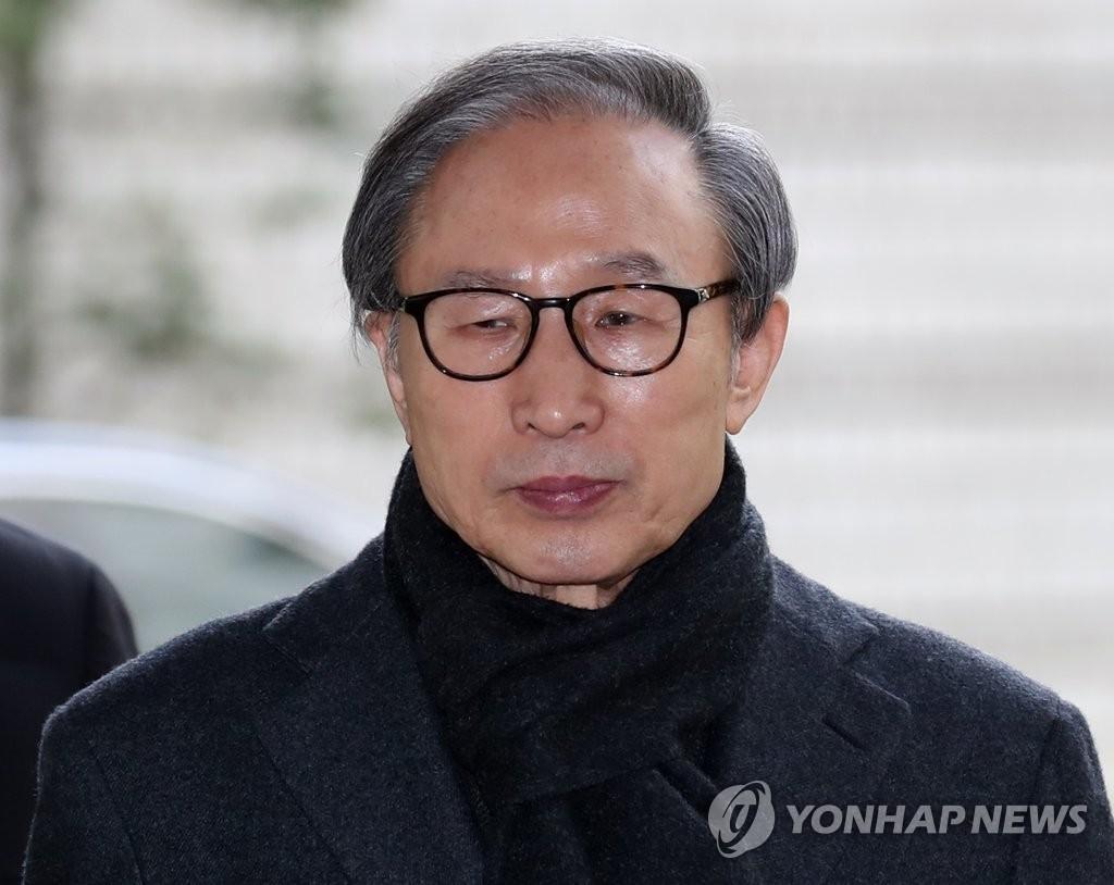 韓前總統李明博最快三天后正式服刑