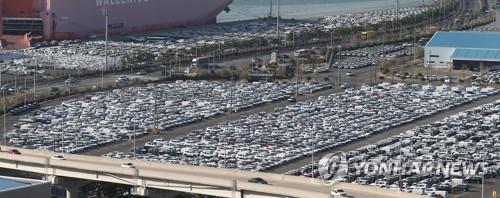 10月南韓汽車生產出口雙雙下滑