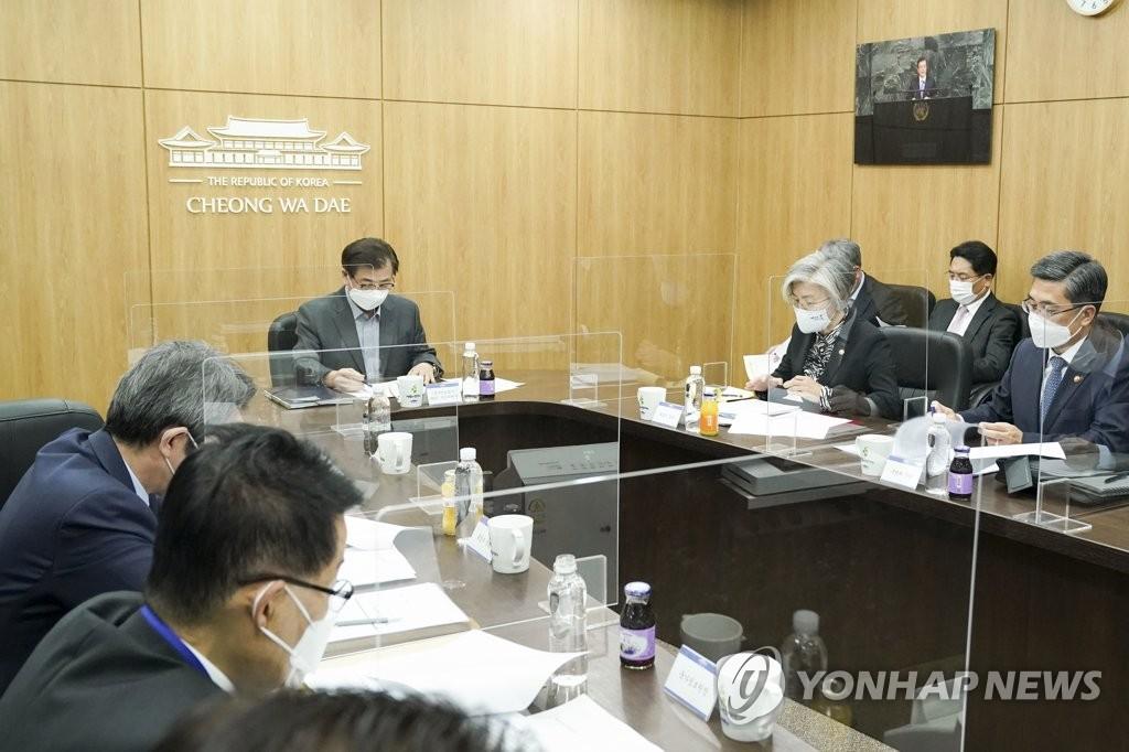 韓青瓦臺開國安會討論東北亞防疫保健合作體進程