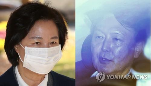 韓法務部長史上首次命令檢察總長停職檢查