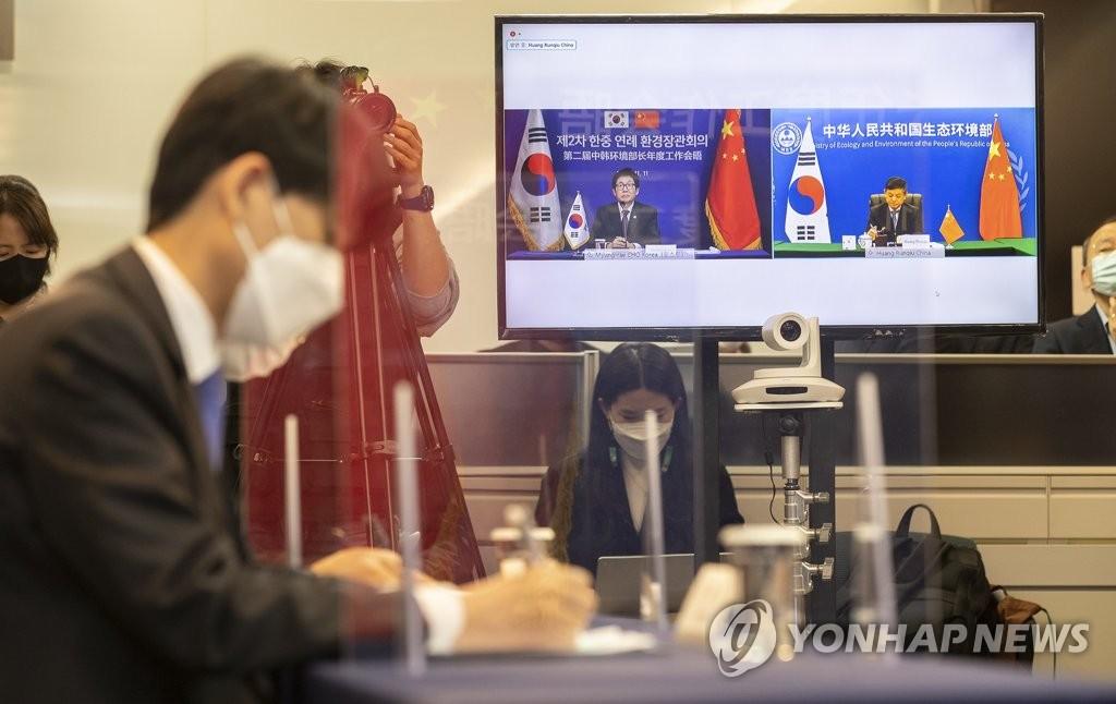 韓中環境部:2020年攜手治霾成效明顯