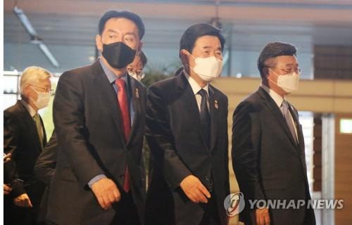 詳訊:南韓議員代表會見日本首相菅義偉