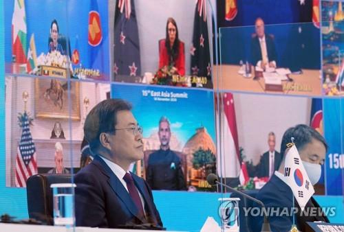 文在寅:各國應緊密合作確保疫情下奧運會安全舉辦